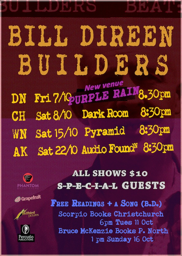 Bill Direen Tour 2016